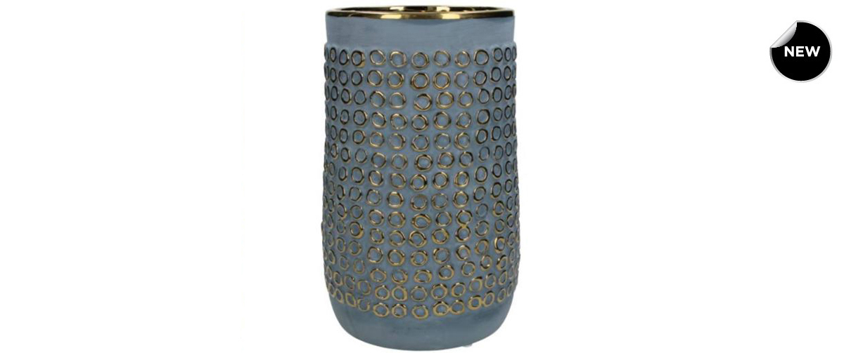 Fine Earthenware Blue vase